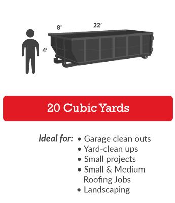 20 Cubic Yards