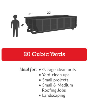 20 Cubic Yards